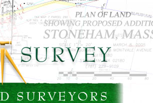 Boundary and topographic surveying